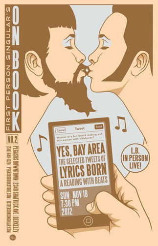 First Person Singular presents Lyrics Born at Pegasus Books Downtown, Sunday, Nov. 18, 7:30 pm