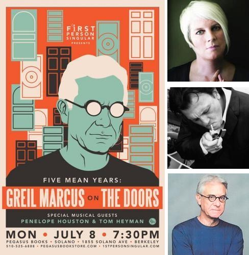 Greil Marcus and Penelope Houston on The Doors, with Tom Heyman